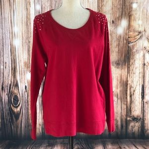 Style & Co The Essential Sweater Jewel Embellished